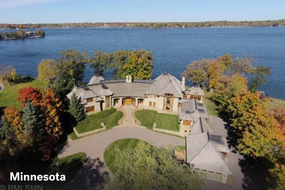 Most expensive lake homes in Detroit Lakes MN