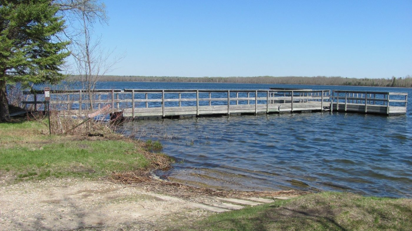 mainy point lake White Earth MN
